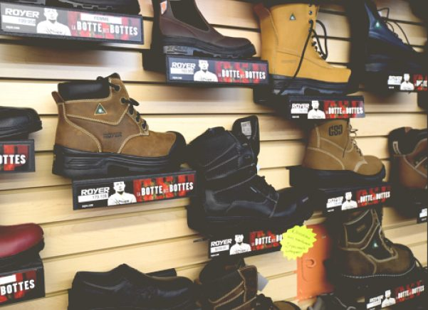 Bottes Rayons Vallee Travailleurs